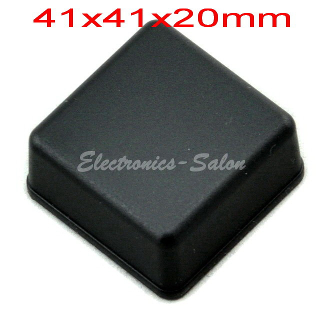 Small Desk-top Plastic Enclosure Box Case,Black, 41x41x20mm, HIGH QUALITY.
