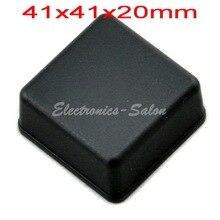 Небольшой настольный Пластиковый Корпус Корпус, Черный, 41x41x20 мм, ВЫСОКОЕ КАЧЕСТВО.
