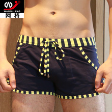 New Cotton Casual Men's Shorts with Inside Pocket Summer Leisure Men's Trunks Comfort Homewear Fitness Workout Beach Shorts Men