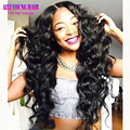 Loose Body Wave Glueless Lace Front Human Hair Wigs 180 Density Full Lace Wig Virgin Brazilian Human Hair Wigs For Black Women