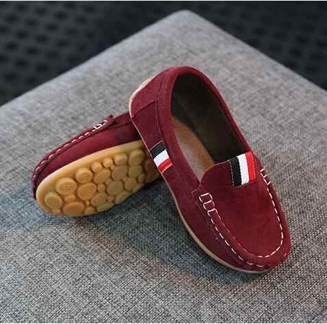 YWPENGCAI Bahar Sonbahar Boyutu 21-36 Çocuklar rahat ayakkabılar Erkek Yumuşak Rahat loafer ayakkabılar #7H220736