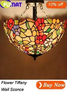 Flower Tiffany Ceiling Light