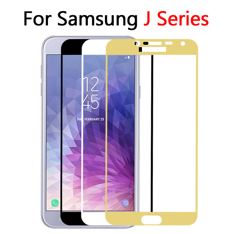 Protective <font><b>Glass</b></font> For <font><b>Samsung</b></font> J8 J4 J6 plus <font><b>2018</b></font> J5 2016 J3 J5 J7 J2 Pro Tempered Glas Screen Protector On The Galaxy J 4 6 Film image