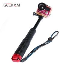 GEEKAM action camera stick For GoPro HERO 5 4,3+SJCAM Xiaomi Yi Waterproof Monopod Tripod Handheld For EKEN H9 Selfie Stick