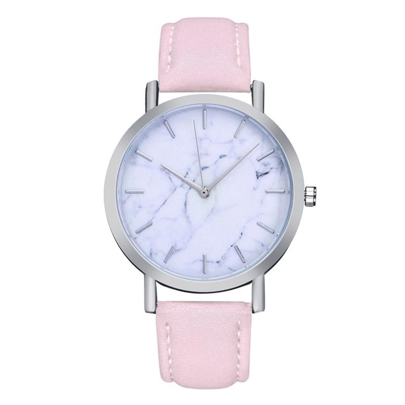 Funique Luxus Marke Marmor Quartzwatches Für Frauen Männer 2018 Damen Armbanduhr Pu Lederband Armbanduhr Digitaluhren Verhindern Den Teint Zu Erhalten Dass Haare Vergrau Werden Und Helfen