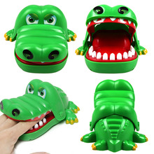 Фотография The hot selling Cute Large Crocodile Mouth Dentist Bite Finger Game Funny Toy Antistress Gift Kids Child Family Prank
