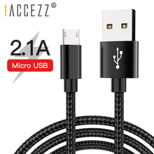 !ACCEZZ Micro USB Charging Cable For Samsung Galaxy S7 S6 Xiaomi Redmi 4X 4A Huawei Android Fast Charger Sync Date