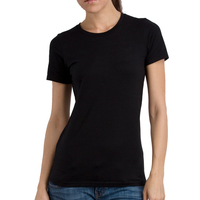 EnjoytheSpirit Plain White And Black Summer New Women T Shirts Short Sleeve Tshirt Ladies Fashion Cotton