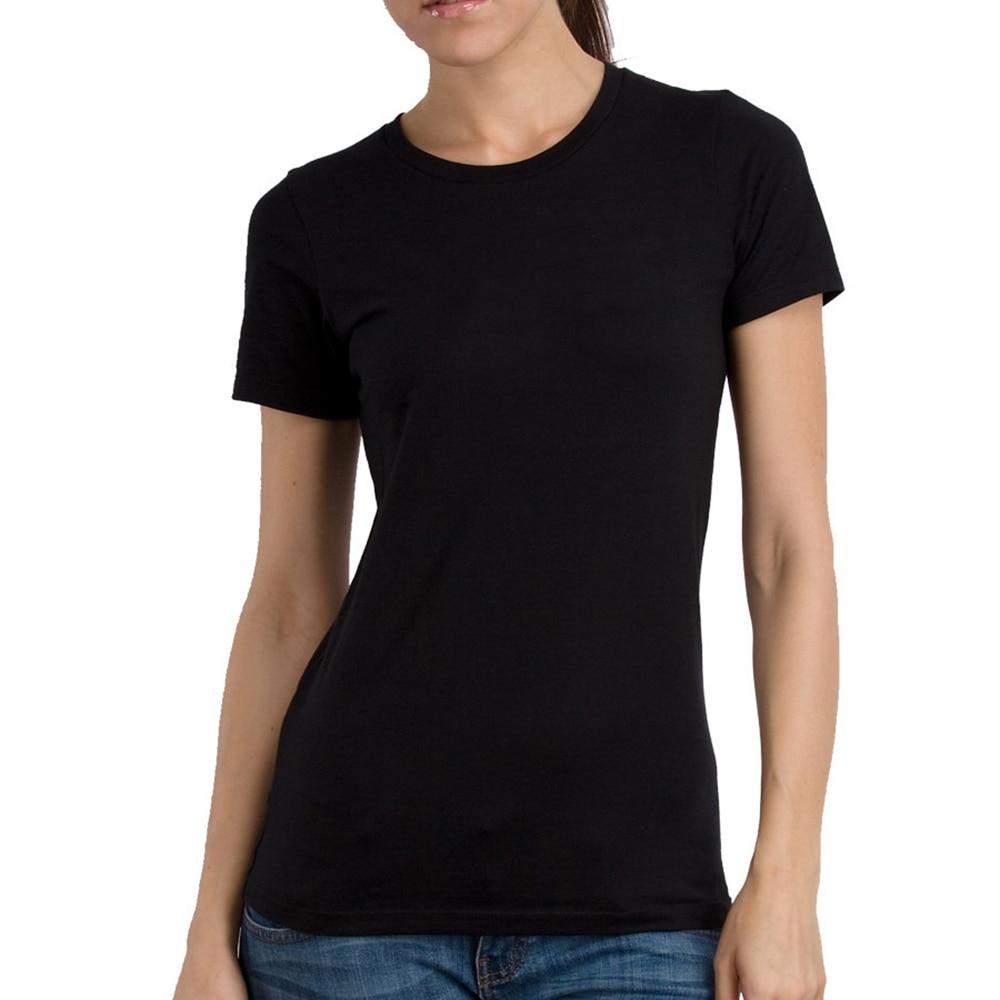 Enjoythespirit plain white and black summer new women t for Plain white tee shirt womens