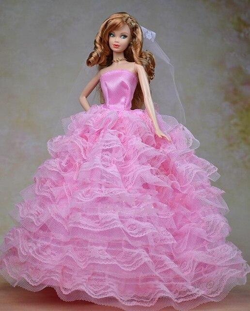 Vestidos de novia para munecas barbie