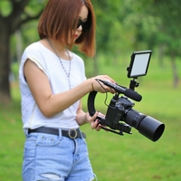 U/C C Shape Bracket Handheld Video Camera Stabilizer Steadicam Shoe Mounts for Gopro Xiaomi Yi Sjcam DSLR SLR Canon Nikon