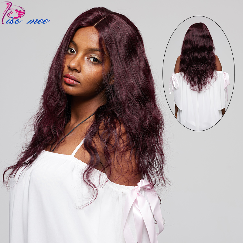 KISSMEE Lace Front Human Hair Wigs For Black Women #135  Body Wave Lace Front Wigs 10-32Inches Brazilian Hair Remy Hair