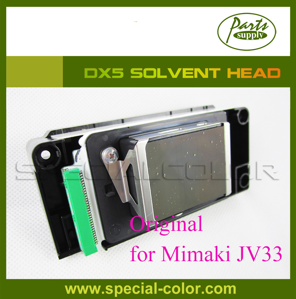 New original eco solvent DX5 printhead for Mimaki JV33 original packaging without Memory Board eco solvent printhead adpater for dx4 print head for mimaki jv2 jv4 jv3 for roland for muoth on high quality