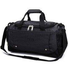 Купить с кэшбэком 2018 Men Travel Bags Shoulder Bag Casual Luggage Duffel Bag Women Large Capacity Traveling bag bolsa de viagem