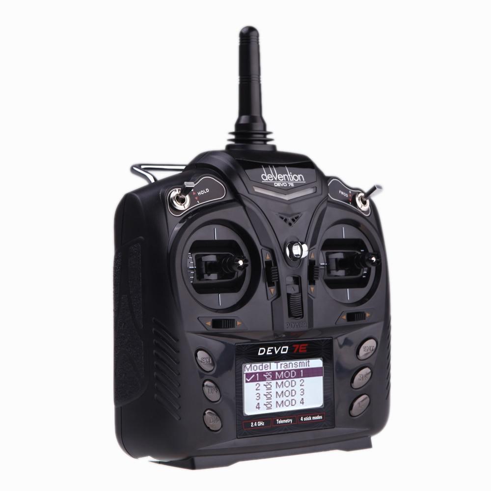 Aliexpress.com : Buy F18519 Walkera DEVO 7E 2.4G 7CH DSSS Radio Control Transmitter for RC ...