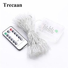 10M 100 Leds LED Fairy String Lights Battery Operated with 8 Modes Remote Control Christmas Holiday Party Wedding Decoration