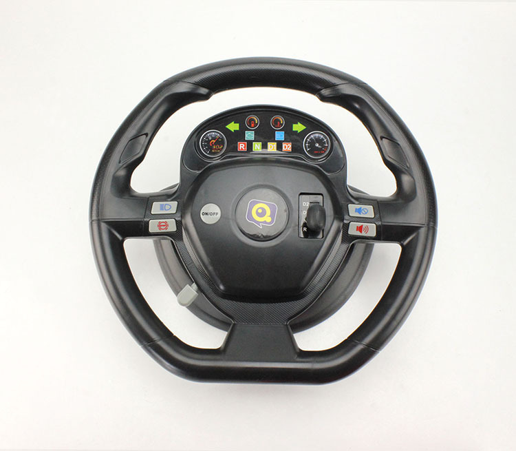 Free Shipping Accelerometer Dynamic Steering Wheel 4CH Remote Control Car 118 With Music Electric RC Toys For Children In Cars From Hobbies