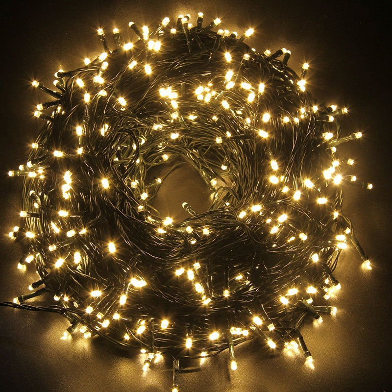Five star Safe 24V 250 LEDs Christmas Lights String Fairy Lights for Indoor Outdoor Party Wedding Decoration-in Lighting Strings from Lights u0026 Lighting on ... & Five star Safe 24V 250 LEDs Christmas Lights String Fairy Lights for ...