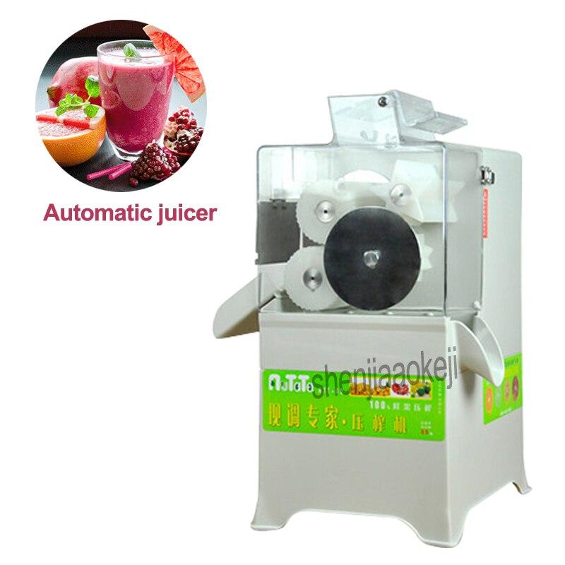 100 w ATT 02 Kumquat лимонная соковыжималка полностью автоматическая соковыжималка высокого сока Коммерческое оборудование для давки сока 6L емкос