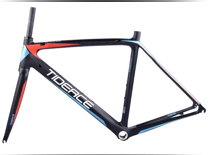 HTB1HuEIX1f85uJjSZFtq6y4bVXai - 2017-2018 Tideace aero Cadre Route Frameset Made in China Carbon Fiber Road Bike Frame Bicycle Frame 50/53/55cm