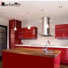 Красочные самоклеящиеся Глянцевая настенная бумага для современного украшение на стену в спальне стикер шкаф кухонный шкаф водонепроницаемый контактная бумага