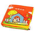 Activity Book Soft Cloth Book Left Brain Development for Children Learning Early Educational 0-12 month Baby Toys