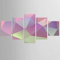 كبيرة ملونة مجردة قماش 5 قطعة الحديثة نمط رخيصة صور ديكور جدار الفن الإطار يطبع هدية/NEW-QJFJ/1087
