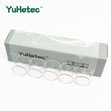 5 pcs YUHETEC Tanque De Vidro De Substituição para Vaporesso NRG Mini 2 ml/NRG Tanque 5 ml/NRG SE 3.5 ml/NRG SE MINI 2 ml tubo de vidro Em Linha Reta