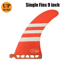 sup center fin 9Fins board paddle single Fin UPSURF logo Fibreglass SUP Board Quilhas Fins