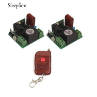Mini AC 220V 10A Relay 1CH Wireless ON OFF Switch Transmitter 2 Receiver 433MHz 315MHz
