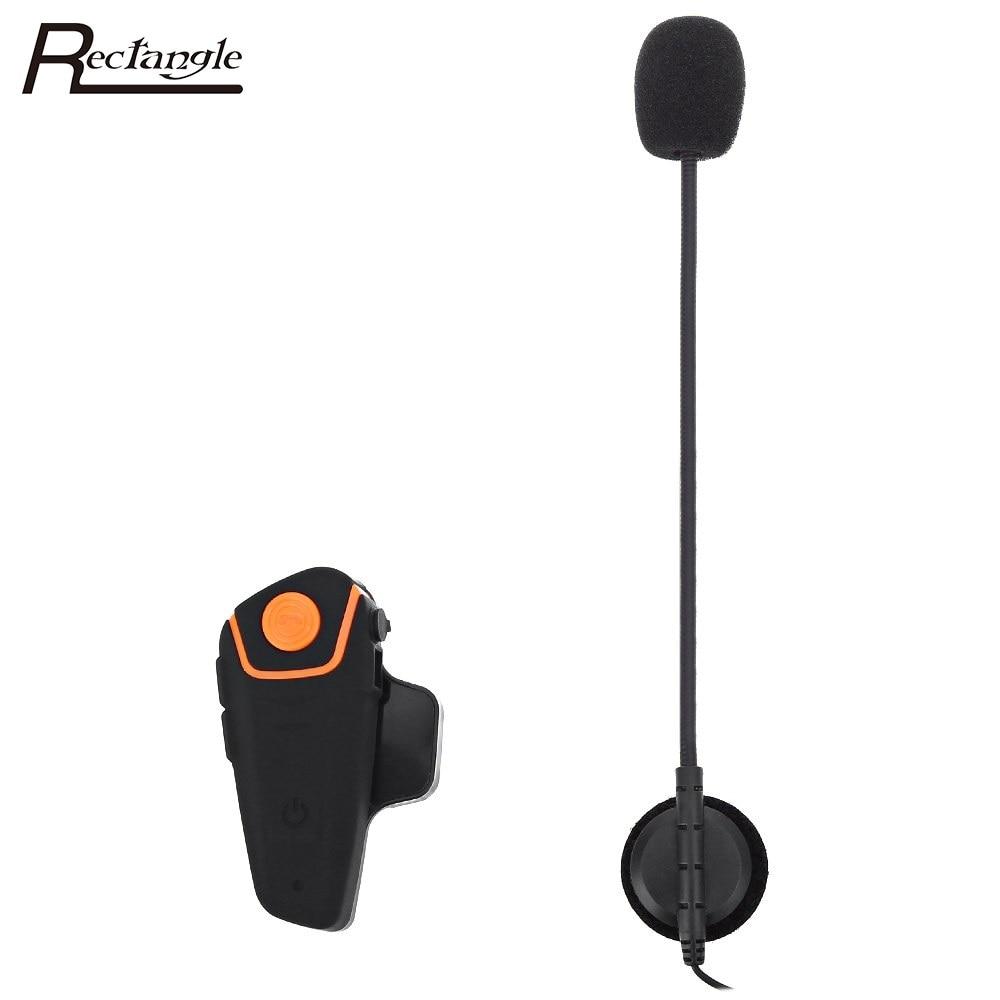UK Plug Waterproof Wireless GPS with Bluetooth Hands Free Motorcycle Helmet Intercom Kit Support FM Radio Large Button Design