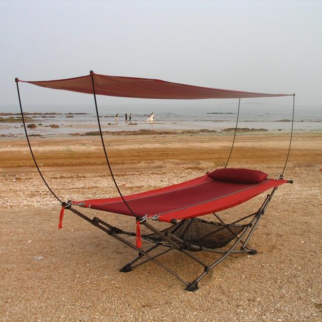 Muebles de jardín de sombra exterior mosquito plegable portable cama ...