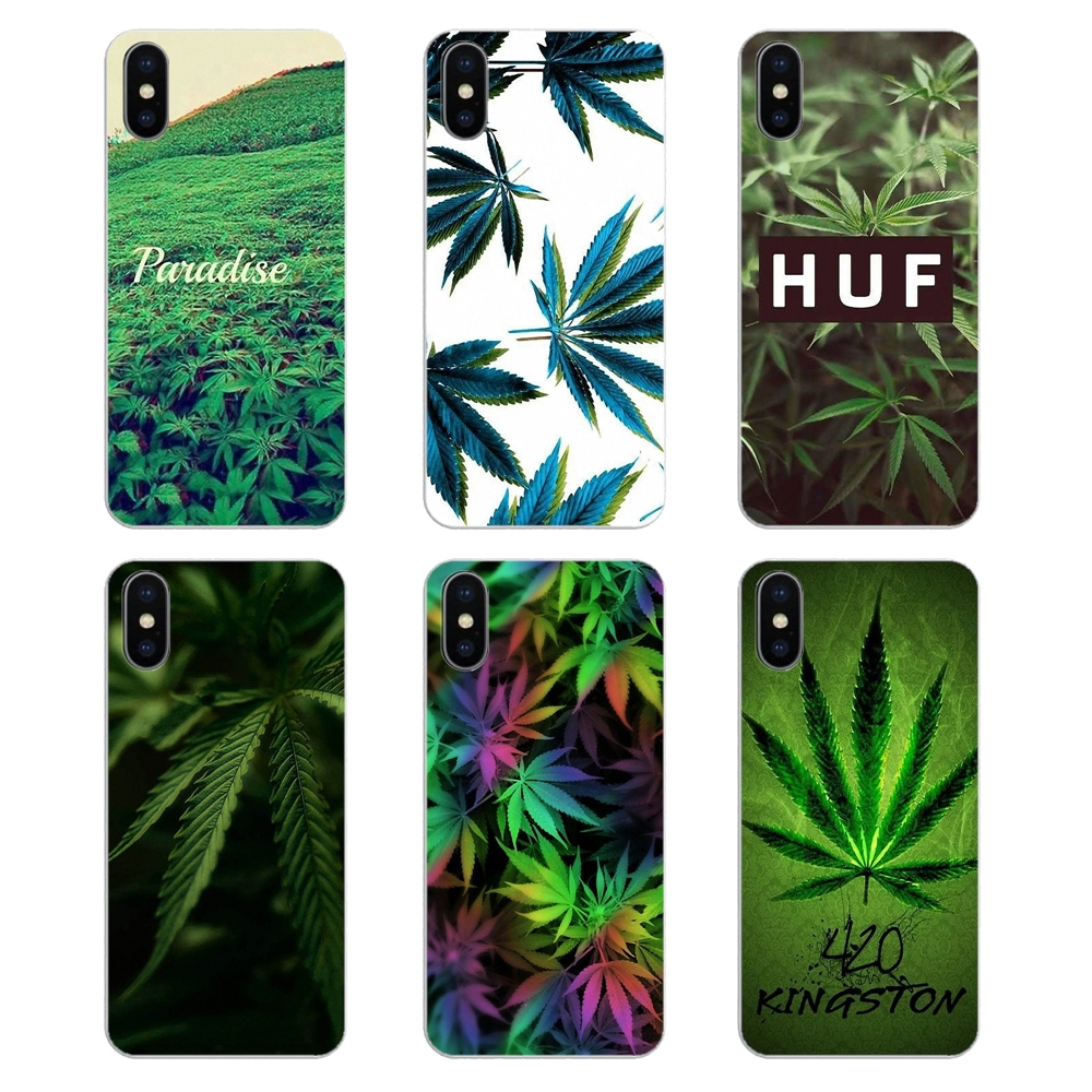 Us 099 Weed Pastel Rainbow Wallpaper Print Soft Transparent Covers For Huawei Honor 8 8c 8x 9 10 7a 7c Mate 10 20 Lite Pro P Smart Plus In Fitted