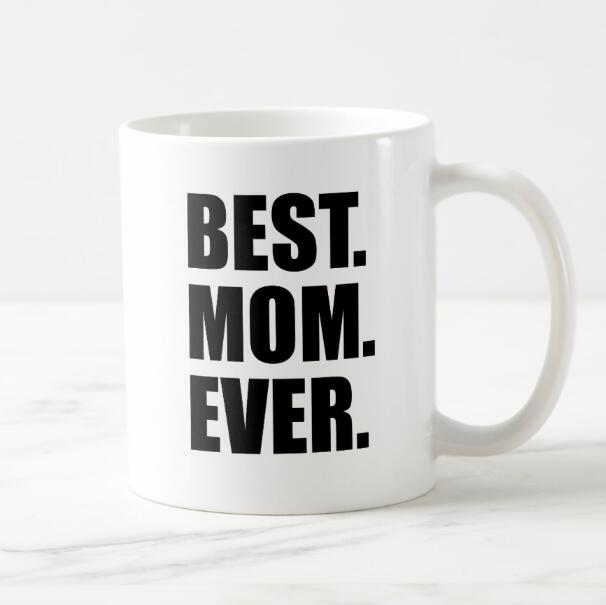 84feadfe73f Hot Novelty Best Mom Ever Coffee Mug Cup Worlds Okayest Mom Mugs Cups  Creative Fashion Mother's