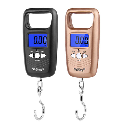 Portable 50kg x 10g Traveling Luggage scale Electronic Weight Scales for fishing suitcase digital Steelyard weight Balance Pakistan