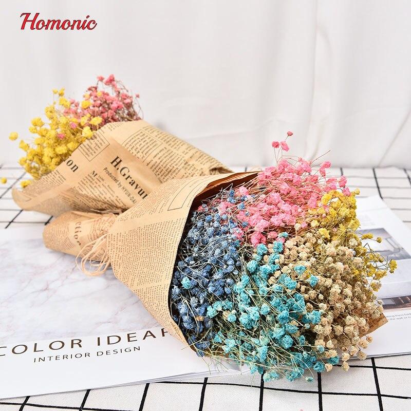 1Bouquet mini gedroogde ingedrukt bloem kunstmatige gedroogde - Feestversiering en feestartikelen - Foto 2