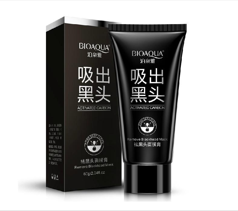 Brand skin beauty black mask, beauty face mask, remove facial acne treatment nariz blackhead peel mask, Korean cosmetics