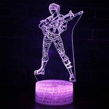 Battle Royale Kids Night Sleep Light Projection Lamp LED Fortnight