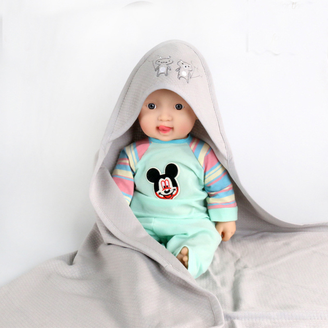 Toalhas de banho de algodão macio infantil do bebê com capuz banho towel infantil menino meninas do bebê cobertor do bebê recém-nascido mãe & crianças roupão