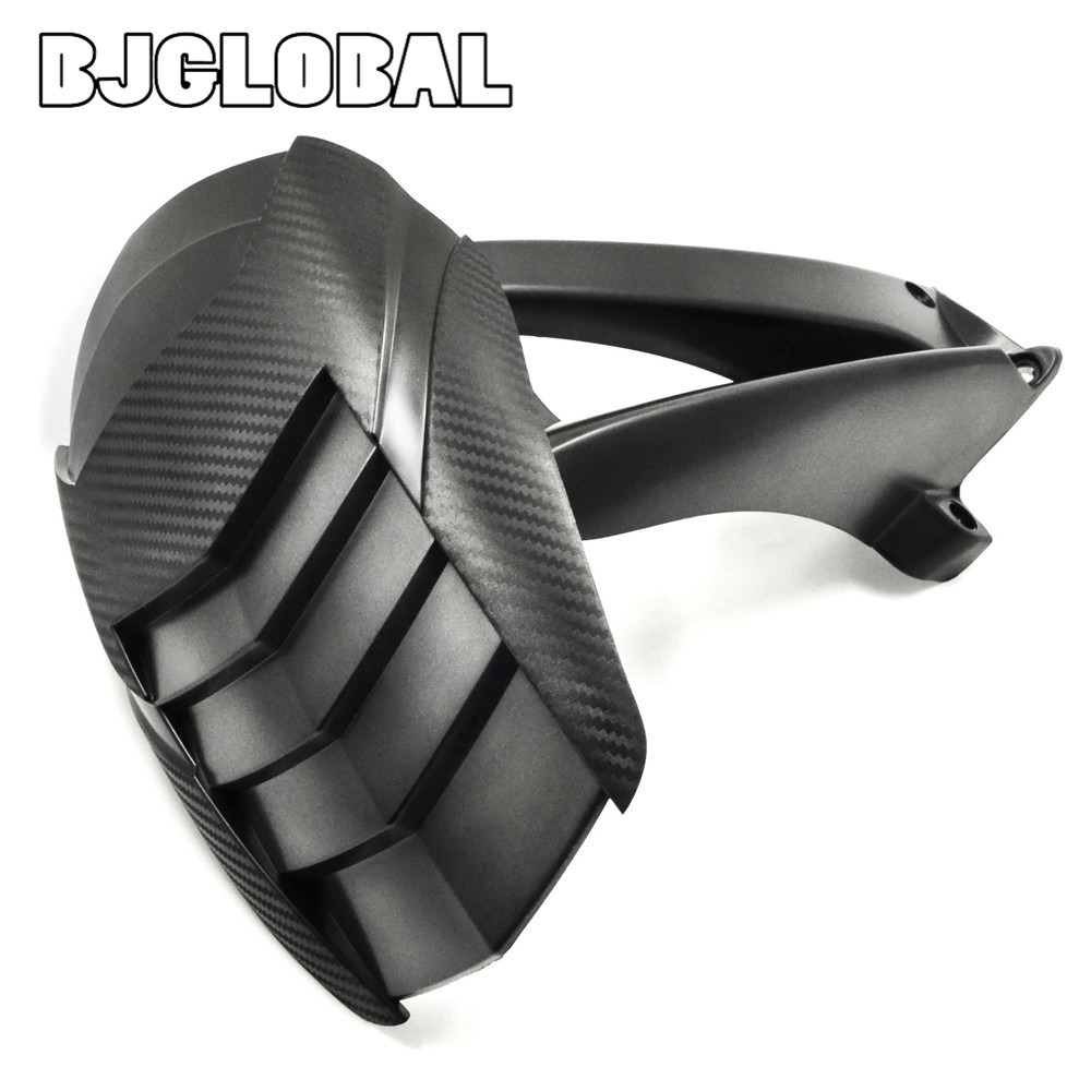BJGLOBAL Motorcycle ABS Rear Fender Mount Rear Hugger Mudguard For BMW R1200GS 2004-2012 2011 2010 2009 2008 2007 2006 Black bjmoto motorcycle abs rear fender bracket motorbike mudguard for bmw r1200gs 2004 2012