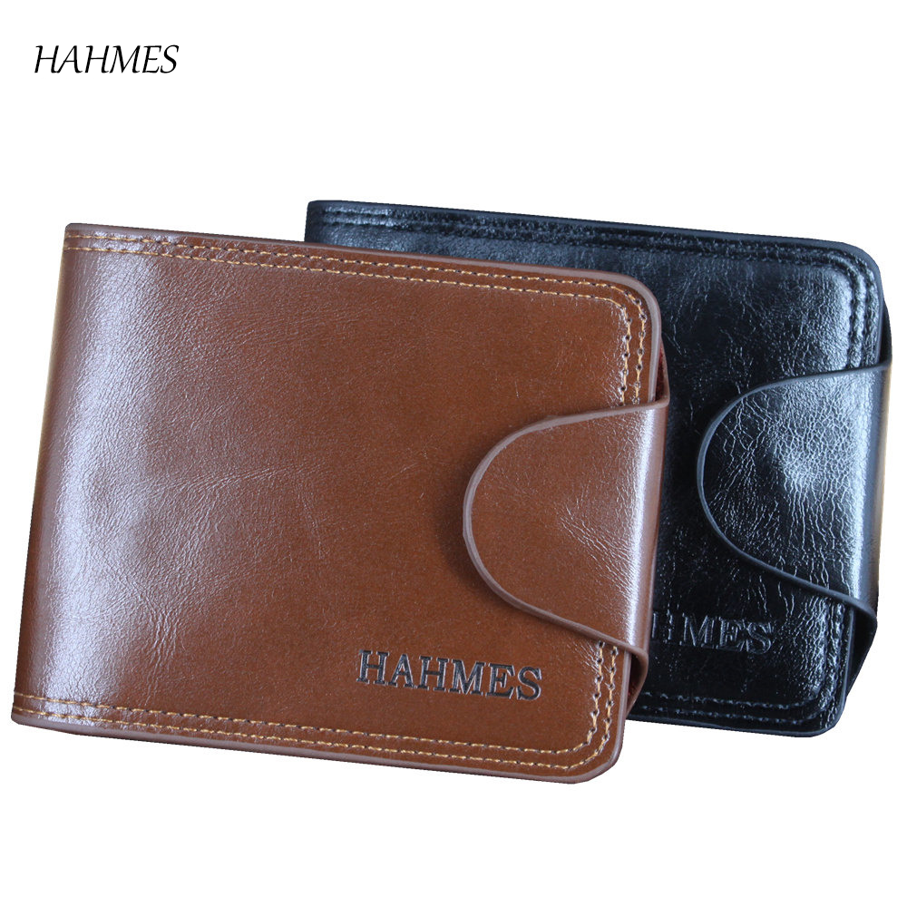 Men Hasp Wallet  Purse Trifold Wallets For Man High Quality Big Capacity Credit Crads Holders Money Bag Free Shipping 2016 new brand short women s wallet high quality guarantee designer s high heeled shoes hasp purse for lady free shipping