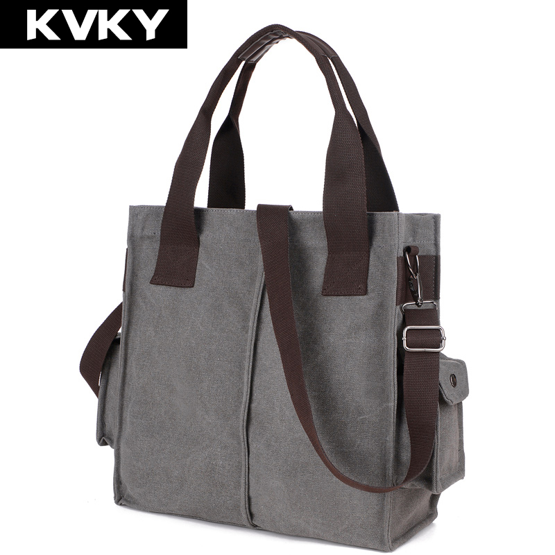 цены  KVKY New Designer Women Canvas Handbags vintage  messenger bags Female Handbag Shoulder Bags Ladies travel bag bolsa feminina