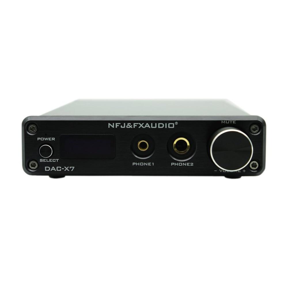 FX-AUDIO Dac-x7 Usb Decoder Audio Febbre Puro Digitale Amp Amplificatore Macchina Pre-stage Dsd256 Decoder Audio Febbre Amp Macchina