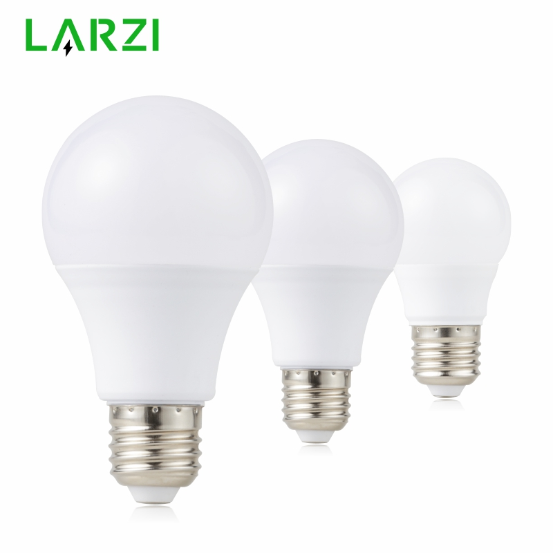 LARZI LED E14 LED lamp E27 LED bulb AC 220V 230V 240V 15W 12W 9W 7W 5W 3W Lampada LED Spotlight Table lamp Lamps light