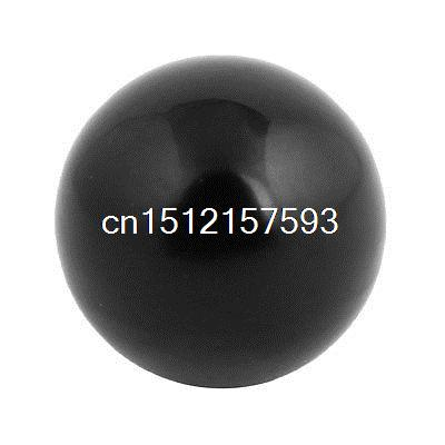 Threaded Knob Plastic Machine Operation Handle Ball 35mm Dia 10mm Bore