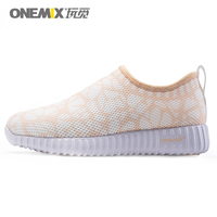 ONEMIX Lihgtweight Slip on Women Running Shoes Sport Shoes Woman Breathable air Mesh Female Sneakers