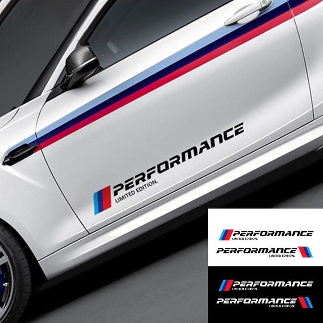 Buy 2x Car Stickers M Performance Car Side Body