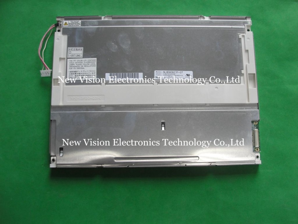 New 12.1inch LCD Screen NL8060BC31-27 For Industrial