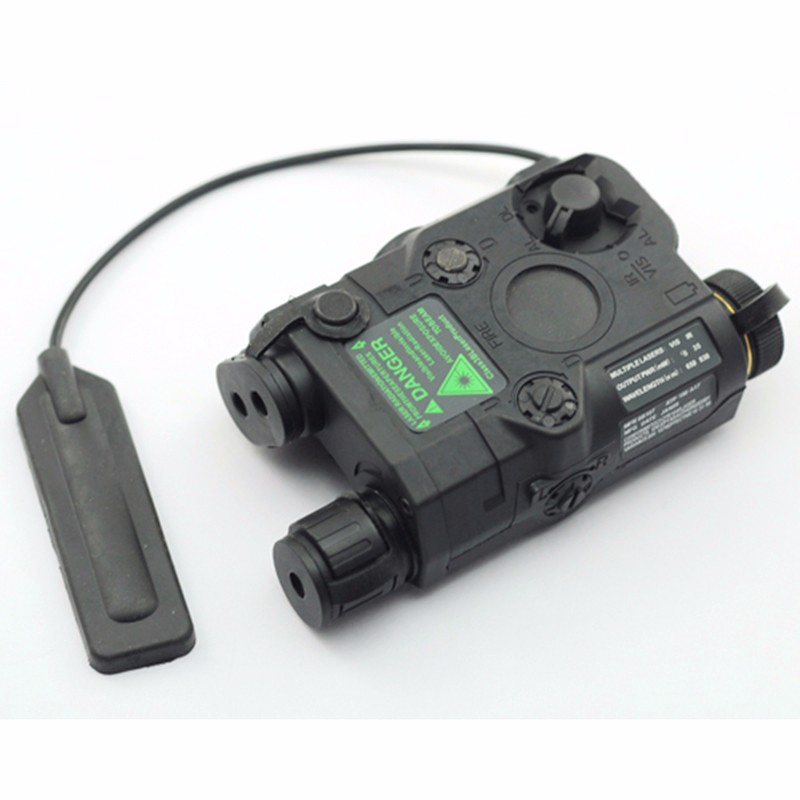 TB-FMA Tactical Battery Box  AN/PEQ-15 Red Dot Laser With White LED Flashlight And IR Lens