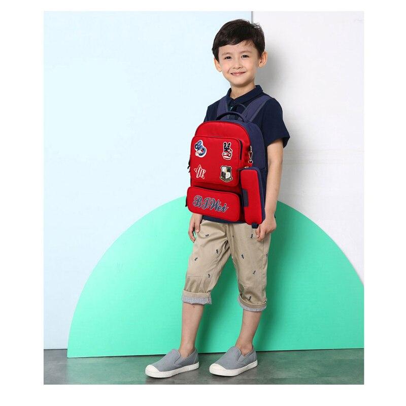 bolsa para meninas meninos crianças Kid Backpacks : Boy School Bags